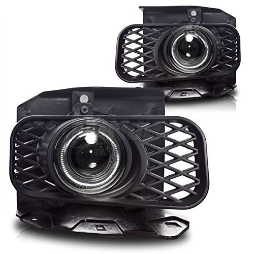 Hid Projector Fog Lights - 99-02 FORD EXPEDITION (XL,XLT LARIAT MODEL W/O STX ED) HALO PROJECTOR FOG LIGHT - CLEAR