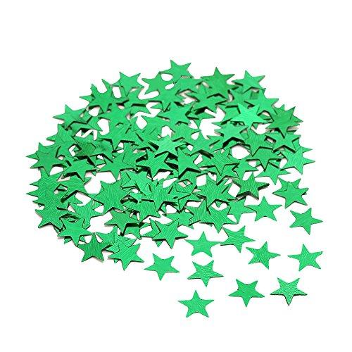 zbtrade 3000/1000 Piezas de Confeti de Estrellas de Estrellas metálicas para decoración de Fiestas, Bodas, Festivales,...