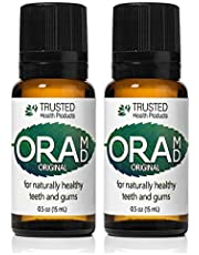 OraMD Original Strength - Gum Disease Toothpaste, Mouthwash and Breath Freshener - Dentist Recommended Worldwide - 100% All-Natural Ingredients