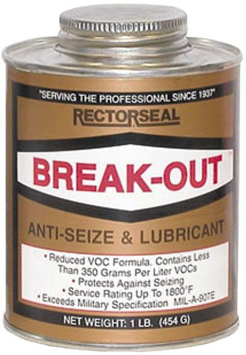 Rectorseal 73431 1-Pound Break-Out Antiseize And Lubricant