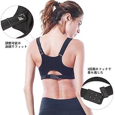 Maveek Sports Bras Women's Fitness Activewear Zip Front Closure Yoga Bras