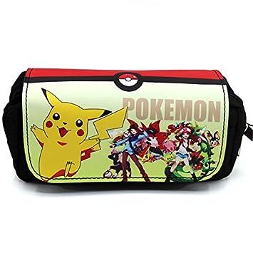 Anime Pokemon caja de lápices bolsa linda bolsa de ...