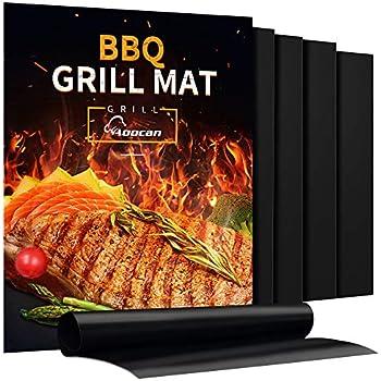Amazon Com Gorilla Grill Mats Huge Double Sized 16x26