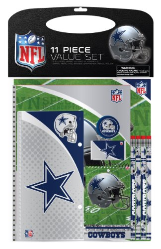 (Dallas Cowboys 11 Piece Stationery Value Pack)