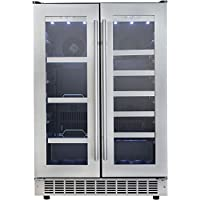 Danby DBC047D3BSSPR Silhouette Professional 24' French Door Beverage Center in Stainless Steel