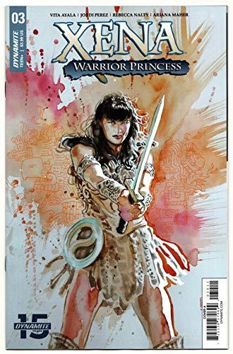 Xena Warrior Princess #3 Cvr A Mack (Dynamite, 2019) NM