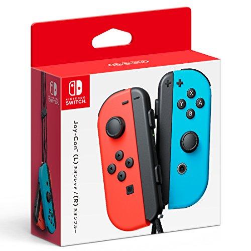 Nintendo Switchコントローラー Joy-Con(L) ネオンレッド/(R) ネオンブルー