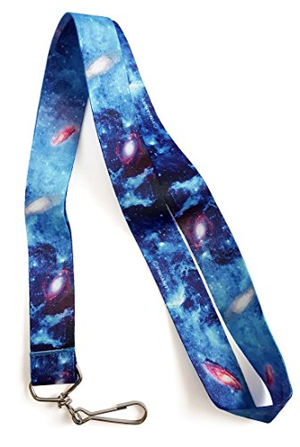 Pinsanity Space Galaxies Premium Lanyard