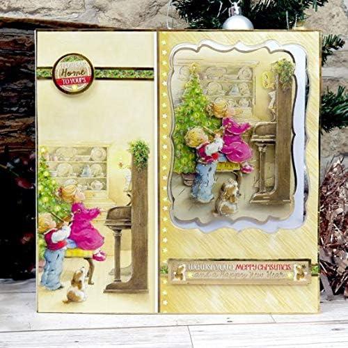 Hunkydory-un Magique Noël Temps Designer DECO-GRAND Collect-amcdec 101