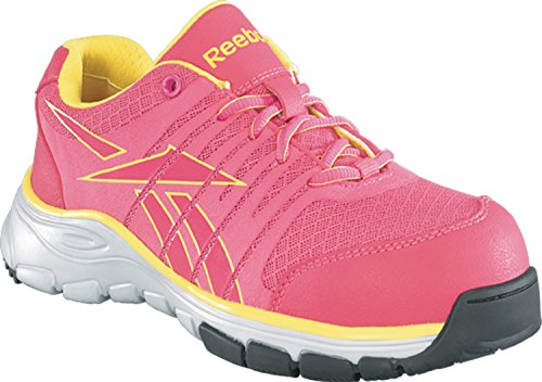 pre order outlet professional Reebok Women's Arion Work Ankle-High Fabric Running Shoe Fushia/Yellow shopping online with mastercard for nice cheap online l2weCOXg4D