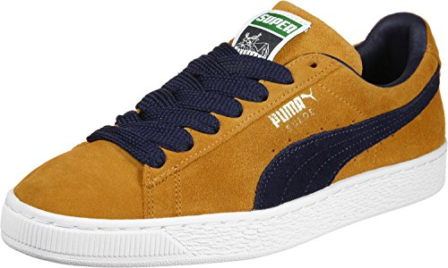 Puma Suede Super Schuhe orange blau