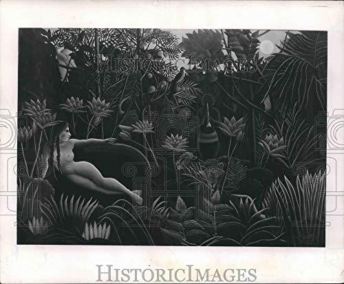 Henri Rousseau Artwork - Press Photo Henri Rousseau's artwork,