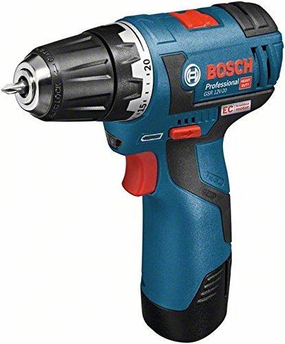 Bosch Professional Perceuse-visseuse sans fil et perceuse-visseuse GSR 10, 8 V-EC 2 x 2, 5 Ah L-Boxx Uni 8V-EC 2x 2 5Ah L-Boxx Uni GSR 12V-20