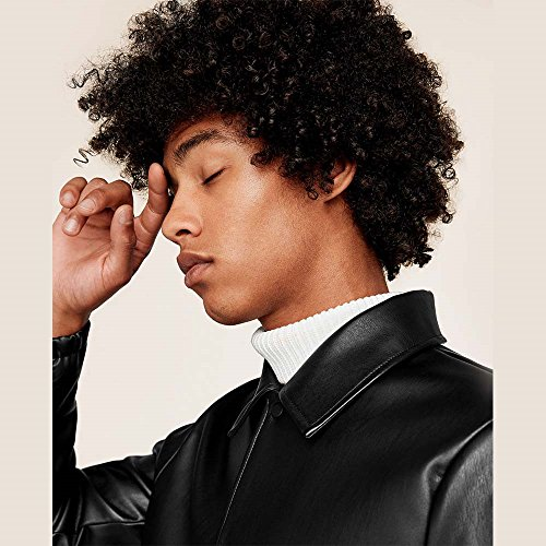 Search : TINY LANA Afro Hair Wigs Short Kinky Curly Synthetic Full Wigs for African American Black Men Boys Black + Free Wig Cap