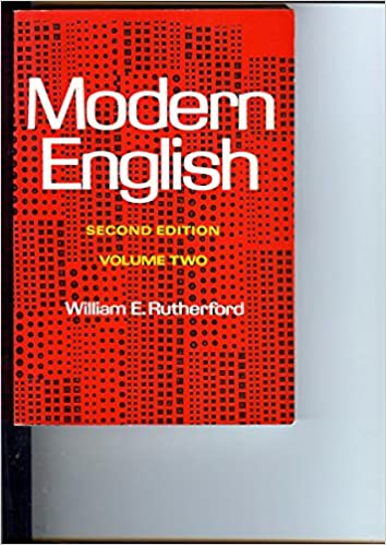 Book Modern English