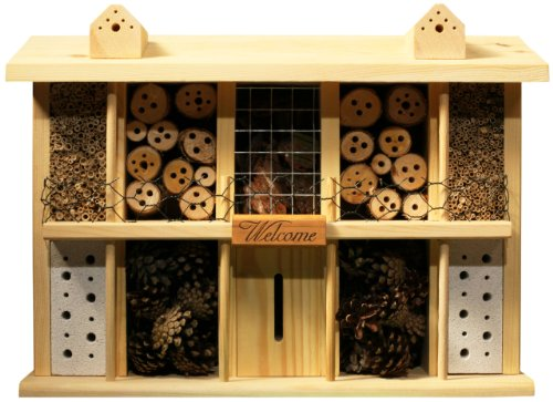 Luxus-Insektenhotels Superior 22626e Bee Hotel/Insect House with 10 Rooms, Balcony and Terrace in Country Estate Design ()