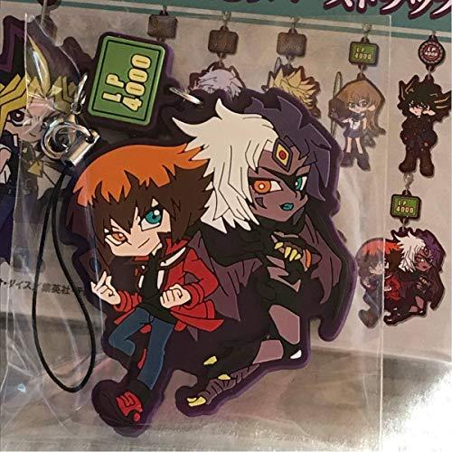 遊戯王シリーズ GX キャラゆらラバーストラップ Vol.1十代&ユベル