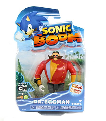 Sonic the Hedgehog 3-Inch Sonic Boom Eggman Articulated Action Figure