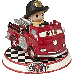 Precious Moments 164434 Red Figurine Cars 4 Showcase Disney Pixar Collection, Multicolor
