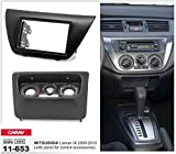 Carav 11-653 Car Stereo Radio installation frame Double Din in Dash Facia Fascia Kit for MITSUBISHI Lancer IX 2000-2010 (with panel for control accessories) with 17398mm 178100mm 178102mm