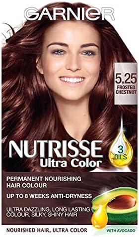 Garnier Nutrisse Ultra color 5,25 – Castaño: Amazon.es: Salud ...