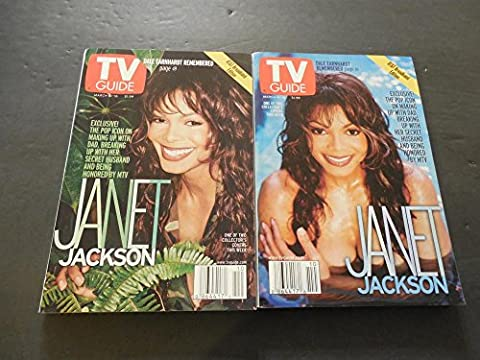 2 TV Guide Issues March 10-16 2001- 2 Janet Jackson Covers (Janet Jackson 12)