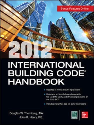2012 International Building Code Handbook (P/L Custom Scoring Survey)