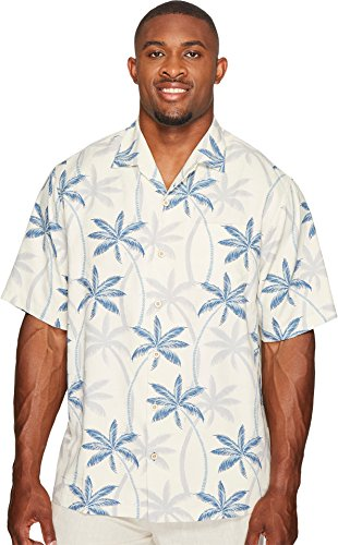 Tommy Bahama Big & Tall Men's Big & Tall Palmas Palooza Camp Shirt Continental 5XB