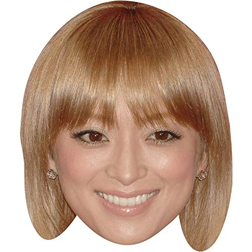 Celebrity Cutouts Ayumi Hamasaki (Fringe) Big Head. Larger Than Life mask.