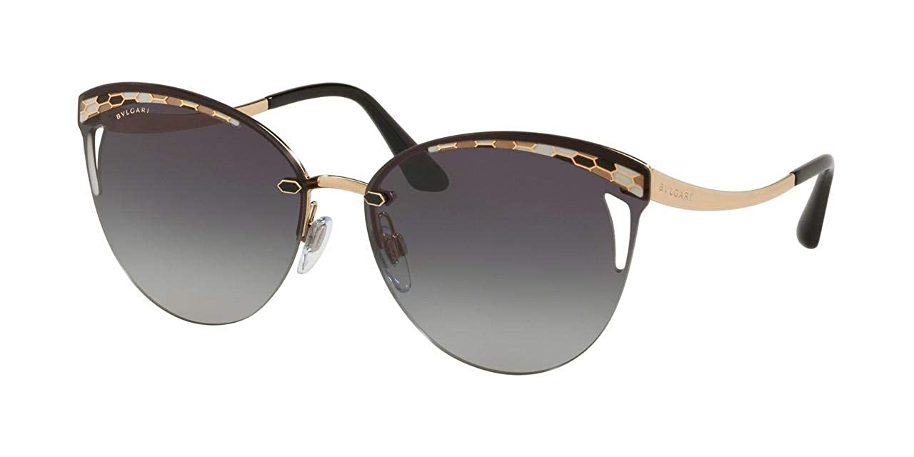 409ca3e5fe50 Amazon.com  Bvlgari BV6110 20148G Pink Gold BV6110 Round Sunglasses Lens  Category 3 Size  Bvlgari  Clothing