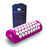 Bed of Nails, Pink Original Acupressure Pillow for Neck/Body Pain Treatment, Relaxation, Mindfulness