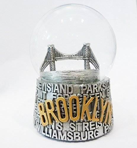 Brooklyn Bridge Snow - Brooklyn New York Snow Globe 65mm