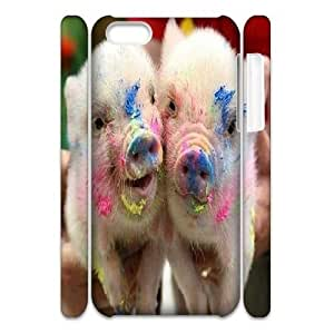 Cute Piggy Custom 3D Phone Case for iPhone 5C by Nickcase