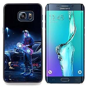 SKCASE Center / Funda Carcasa protectora - Back To The Futur;;;;;;;; - Samsung Galaxy S6 Edge Plus / S6 Edge+ G928