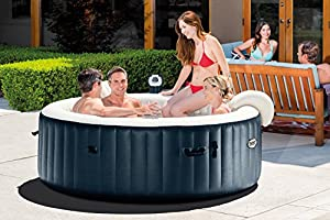 Intex Pure Spa 6-Person Inflatable Portable Heated Bubble Hot Tub | 28409E