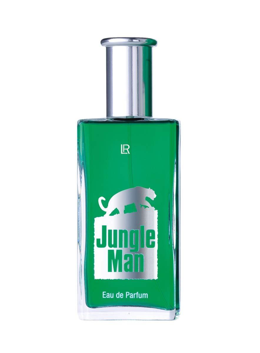 2x LR Jungle Man Eau de Parfum 50ml (Nr.3430) + 2 Jungle Minis für unterwegs - mit hochwertiger Geschenkverpackung LR Health & Beauty