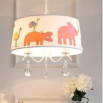 TXDZ ® LED para niños Lámpara de techo niño Niña Dormitorio ...