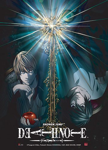 Great Eastern Entertainment Death Note Light Vs. L Wall Scroll, 33 by (Death Scroll)