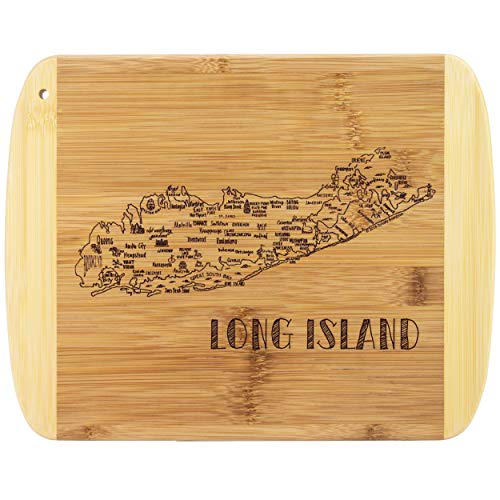 Totally Bamboo A Slice of Life Long Island Bamboo Serving and Cutting Board - Island Cutting Board