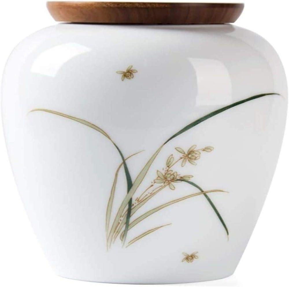 LXLXCS Jars for Canning Tea utensils Porcelain tea cans Dense doors Tea cans Tea cans Chinese tea cans Food cans (Color : Figure 2)