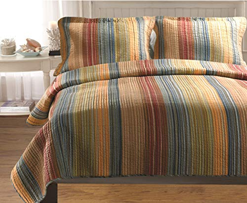 - Greenland Home Katy Twin Quilt Set