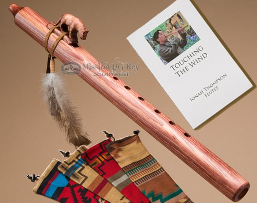 Jonah Thompson Flute Pack -Walnut Mountain Lion by Jonah Thompson Flutes