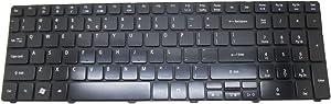 Laptop Glossy Keyboard for Acer Aspire 7740 7740G 7741 7741G 7741Z 7741ZG 7745 7745G 7745Z 7750Z 8940G 5742 5742G 5742Z 5742ZG English US Black