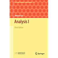 Analysis I: Third Edition (Texts and Readings in Mathematics Book 37)
