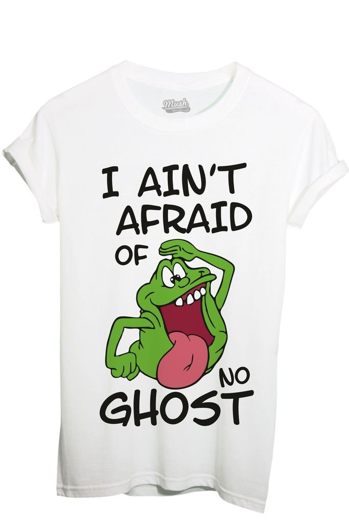 T-Shirt SLIMER I AINT AFRAID OF NO GHOST - GHOSTBUSTERS - FILM by iMage Dress Your Style imshT-IT-1104-parent