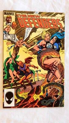 The New Defenders #132 Comic Book - Marvel Comics 1984 - Grade 9.2 ()