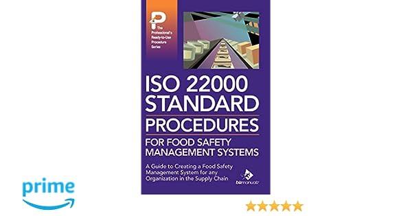 ISO 22000 Standard Procedures for Food Safety Management