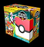 New Exciting Pokemon Mega Mystery 3 Box Get 4 Cool Pokemon TCG Booster Packs, 1 One Mystery Pack ,1 Foil EX Or GX Promo Card And A Radical Sculpted Figure - Perfect Gift For Any Pokemon Fan!