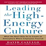 Leading the High Energy Culture: What the Best CEOs Do to Create an Atmosphere Where Employees Flourish | David Casullo