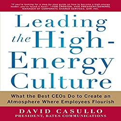 Leading the High Energy Culture